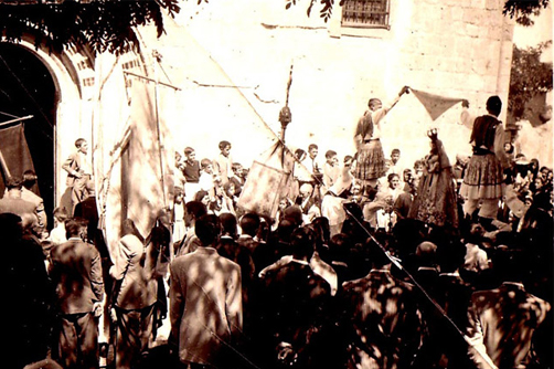 Historia grupo de danzas Segovia
