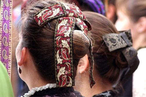 Vestuario grupo de danzas Segovia